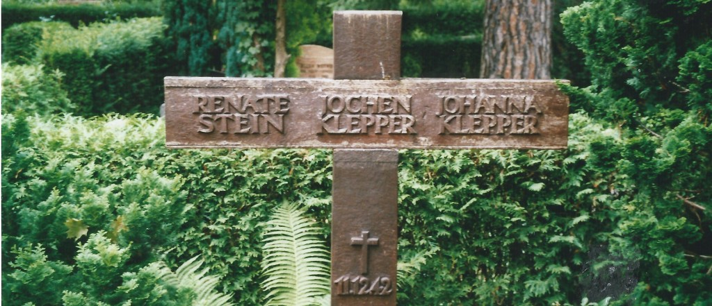 Het graf van Jochen Klepper, Johanna Stein en Renate Stein in Berlijn, Nikolassee.